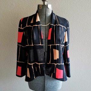 Nine West Work Wear Shawl Collar Size; 18